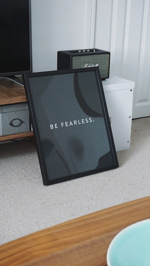 be-fearless-print